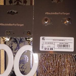 BaubleBar Jewelry - 3pc SUGARFIX By BAUBLEBAR FLOWER/TASSEL EARRINGS